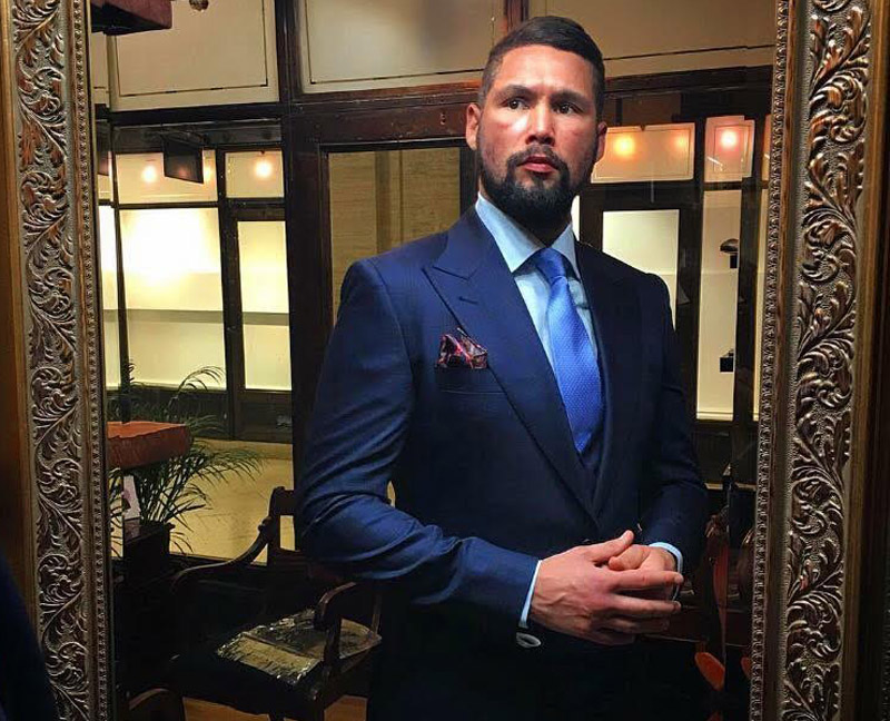 Tony Bellew in Signature Bespoke